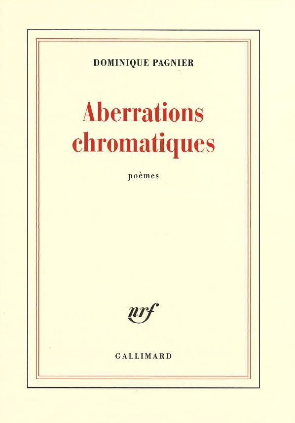 Aberrations chromatiques