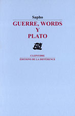 Guerre, words y plato