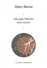 Ma page blanche mon amour