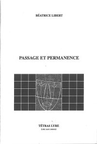 <i>Passage et Permanence</i>