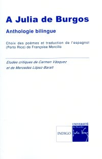 A Julia de Burgos, Anthologie bilingue