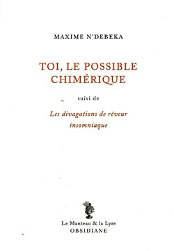 Toi, le possible chimérique de Maxime N'Debeka